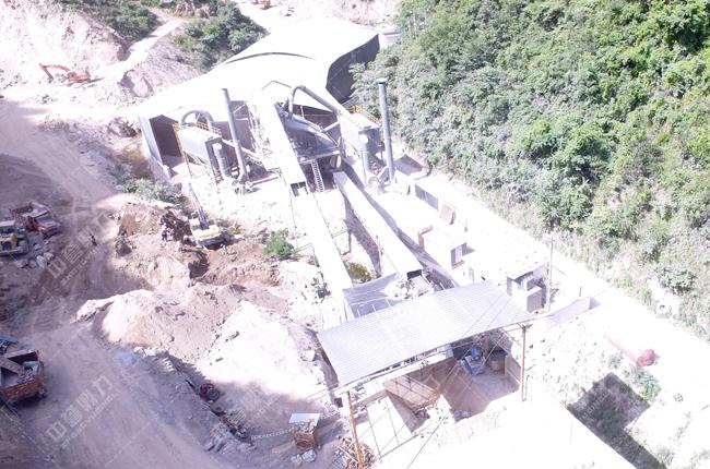 陕西省镇安县天佑建材有限公司石料生产线