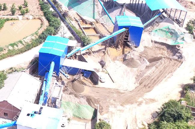 陕西省渭南市潼关时产300吨石料生产线