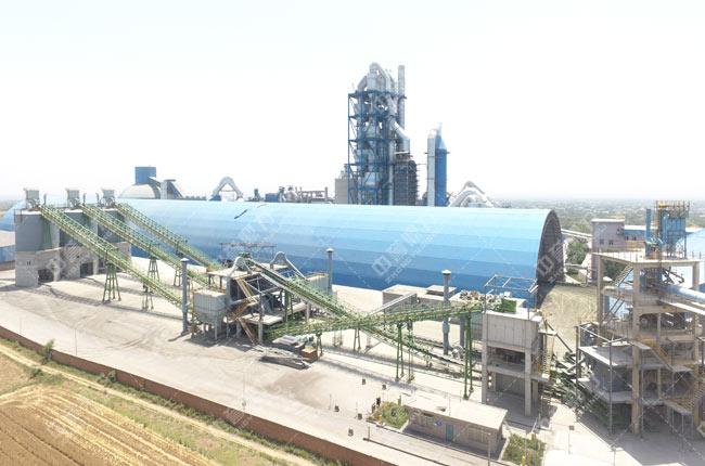 陕西省渭南市陕西实丰水泥股份有限公司时产500吨生产线