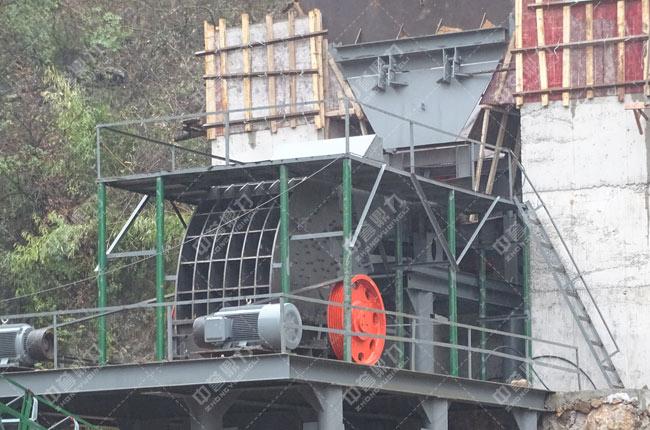 湖北省宜昌市秭归县水磨溪矿业时产800吨砂石生产线