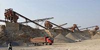 浙江湖州时产1200吨石子生产